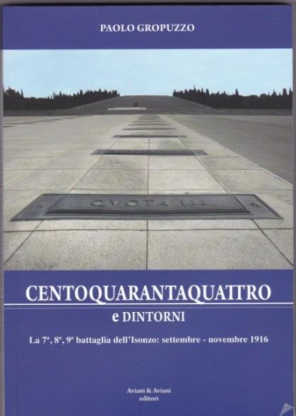 Gropuzzzo Quota 144 e dintorni copertina
